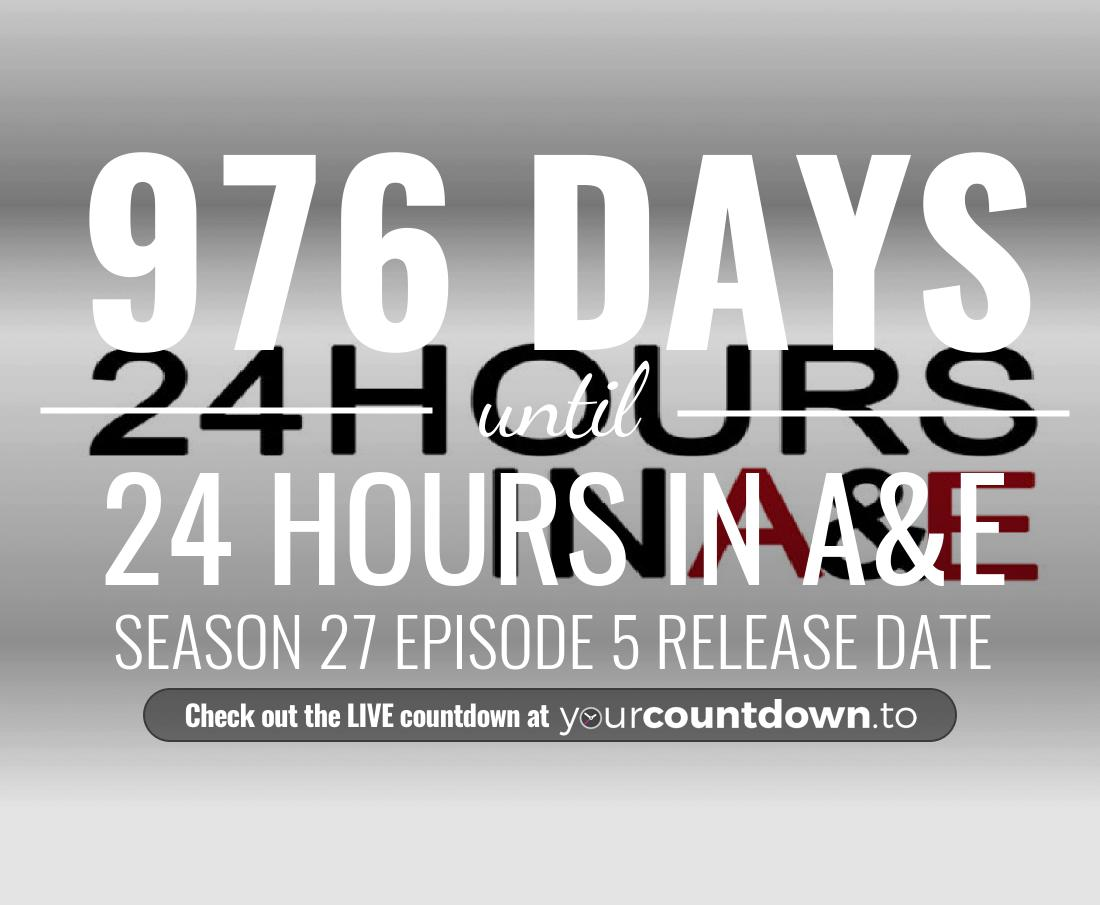 Countdown to 24 Hours in A&E Season 19 Episode 4