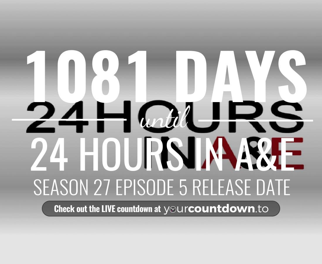 Countdown to 24 Hours in A&E Season 18 Episode 16