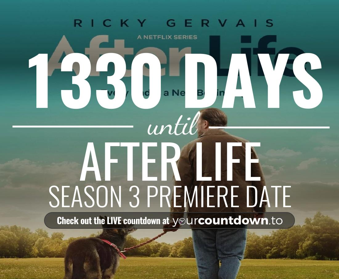 Countdown to After Life Season 1 Premiere Date