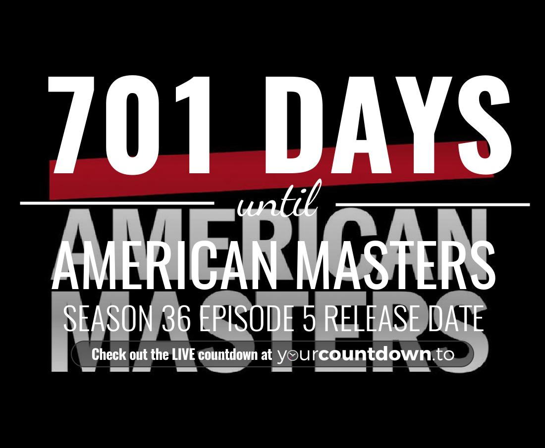 Countdown to American Masters Season 34 Episode 5