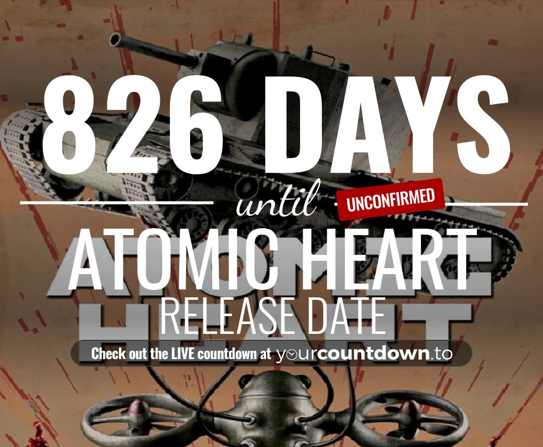 Countdown to Atomic Heart Release Date