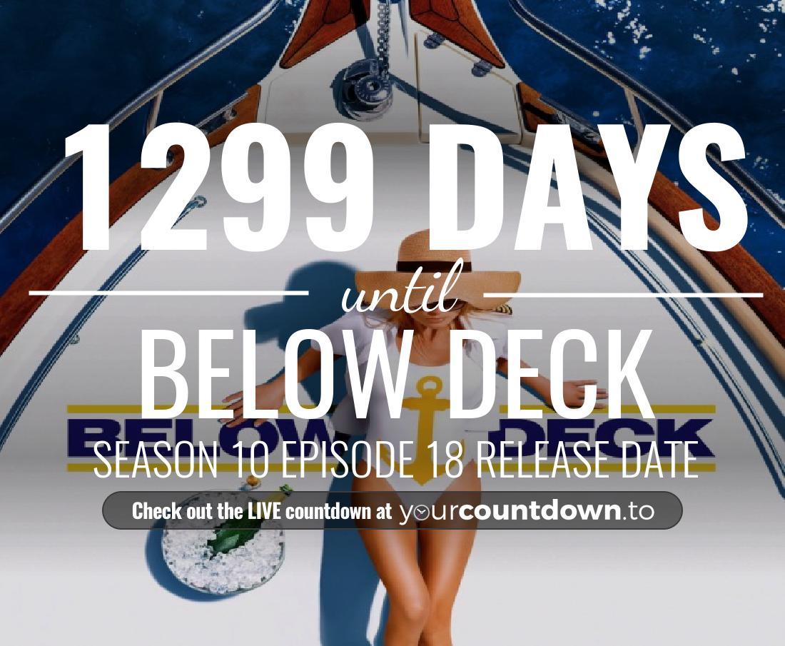 Countdown To Below Deck | Season 7 Premiere Date