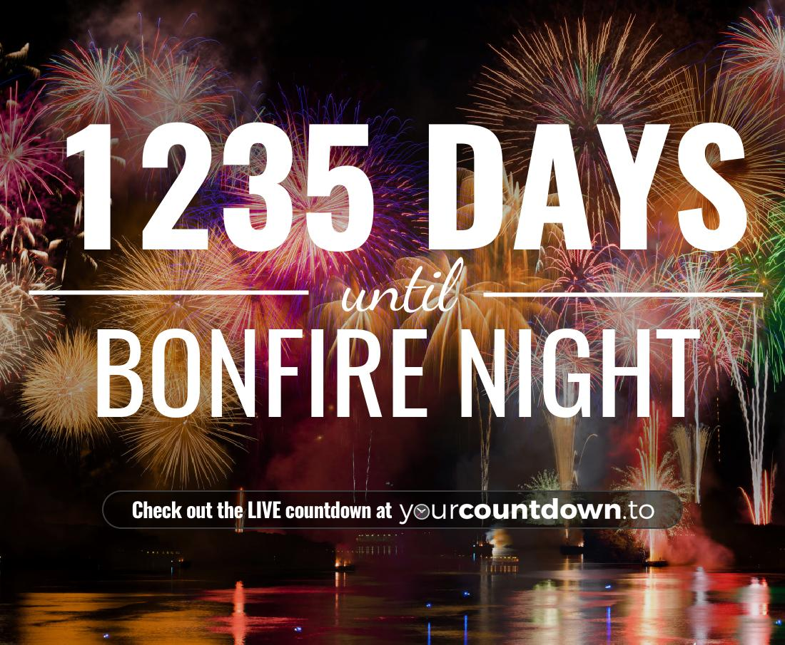 Countdown to Bonfire Night
