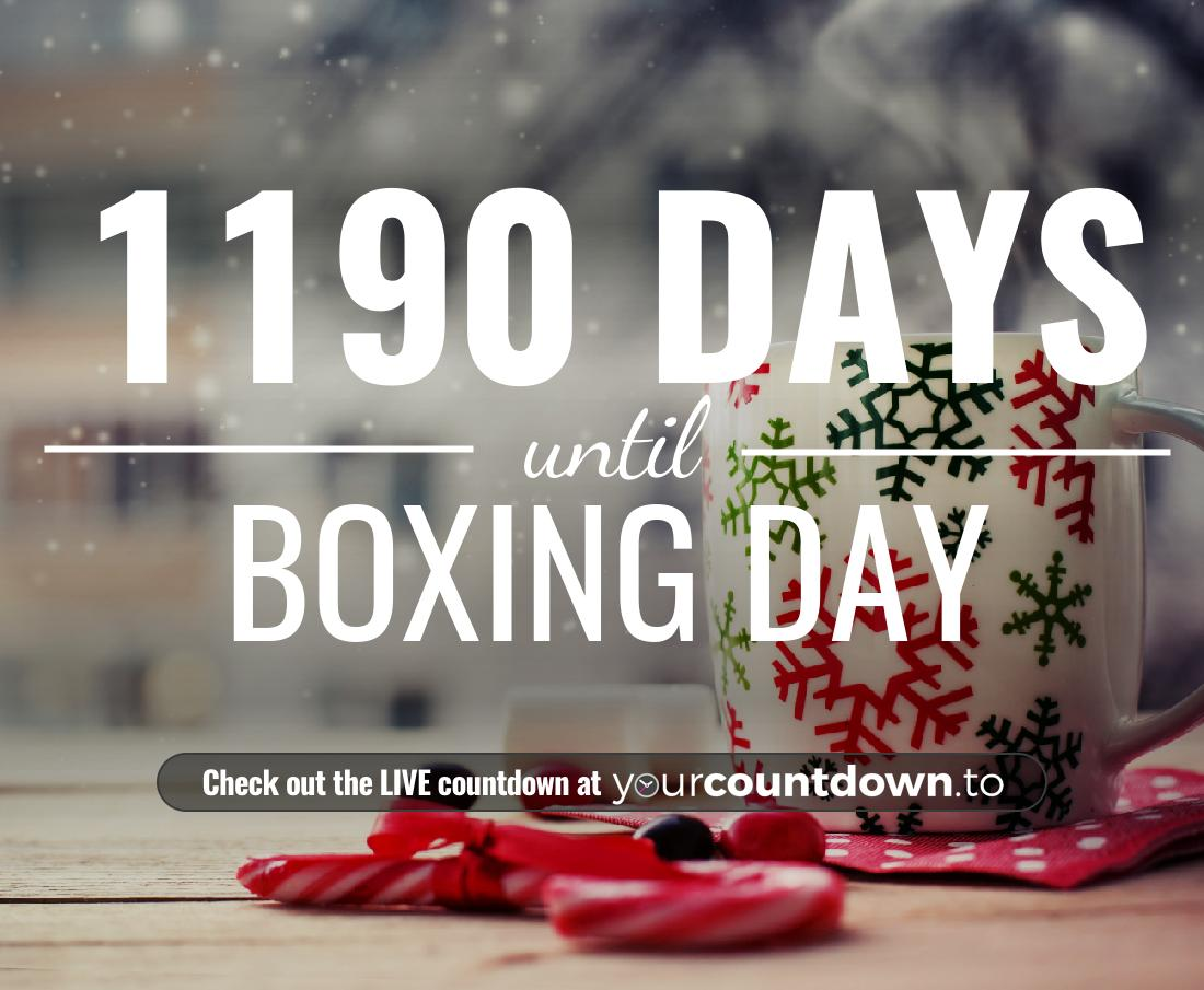 Countdown to Boxing Day