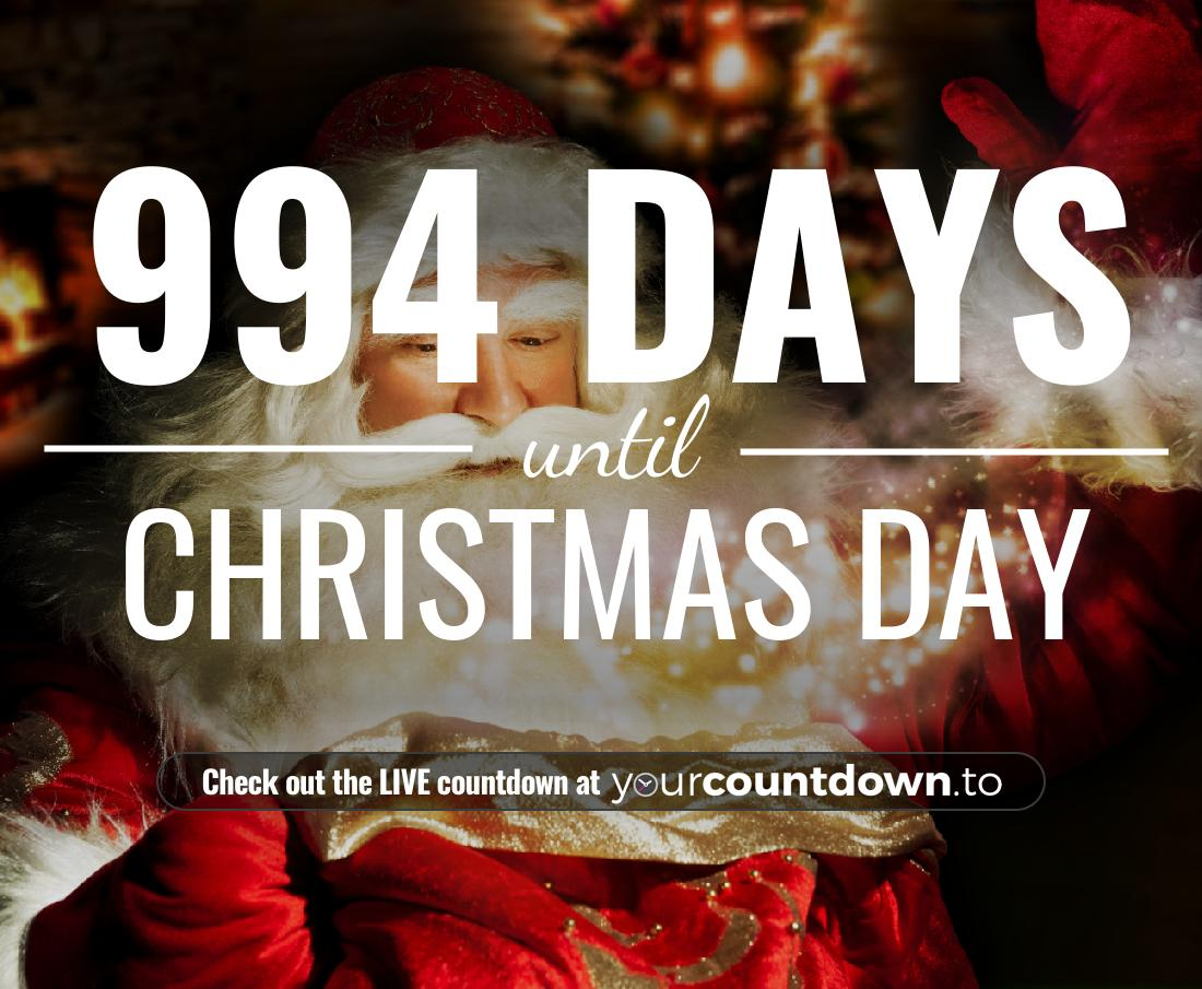 Countdown to Christmas Day