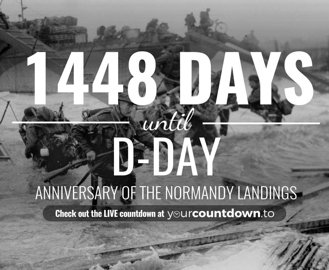 Countdown to D-Day Anniversary of the Normandy landings