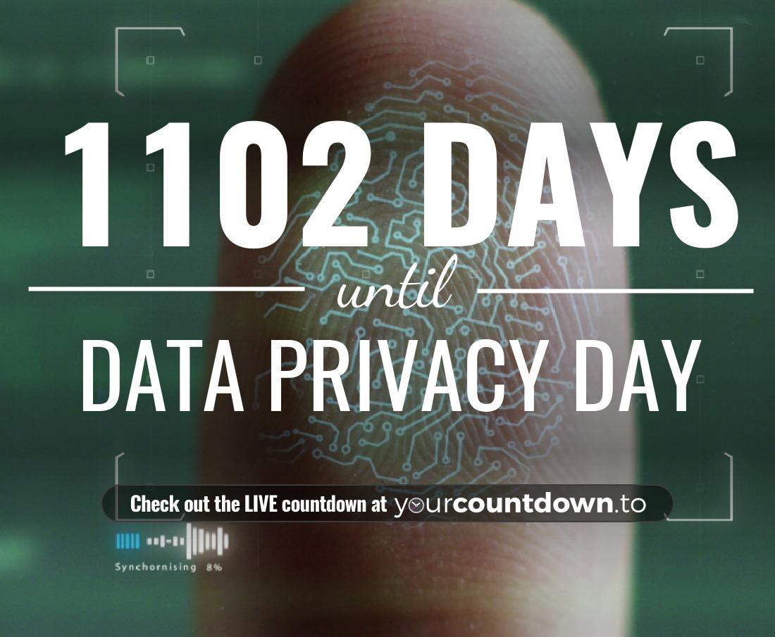 Countdown to Data Privacy Day