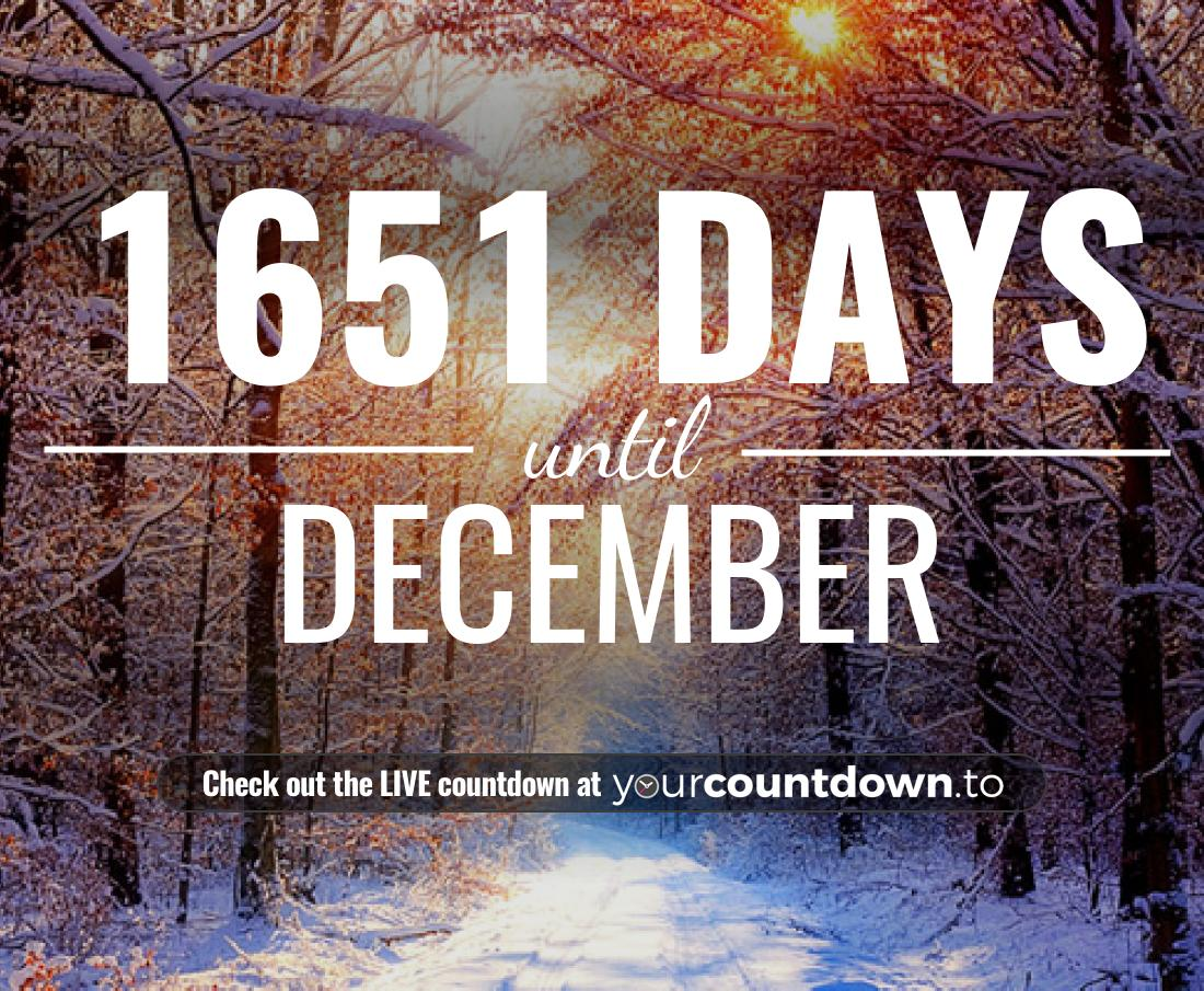 Countdown to December