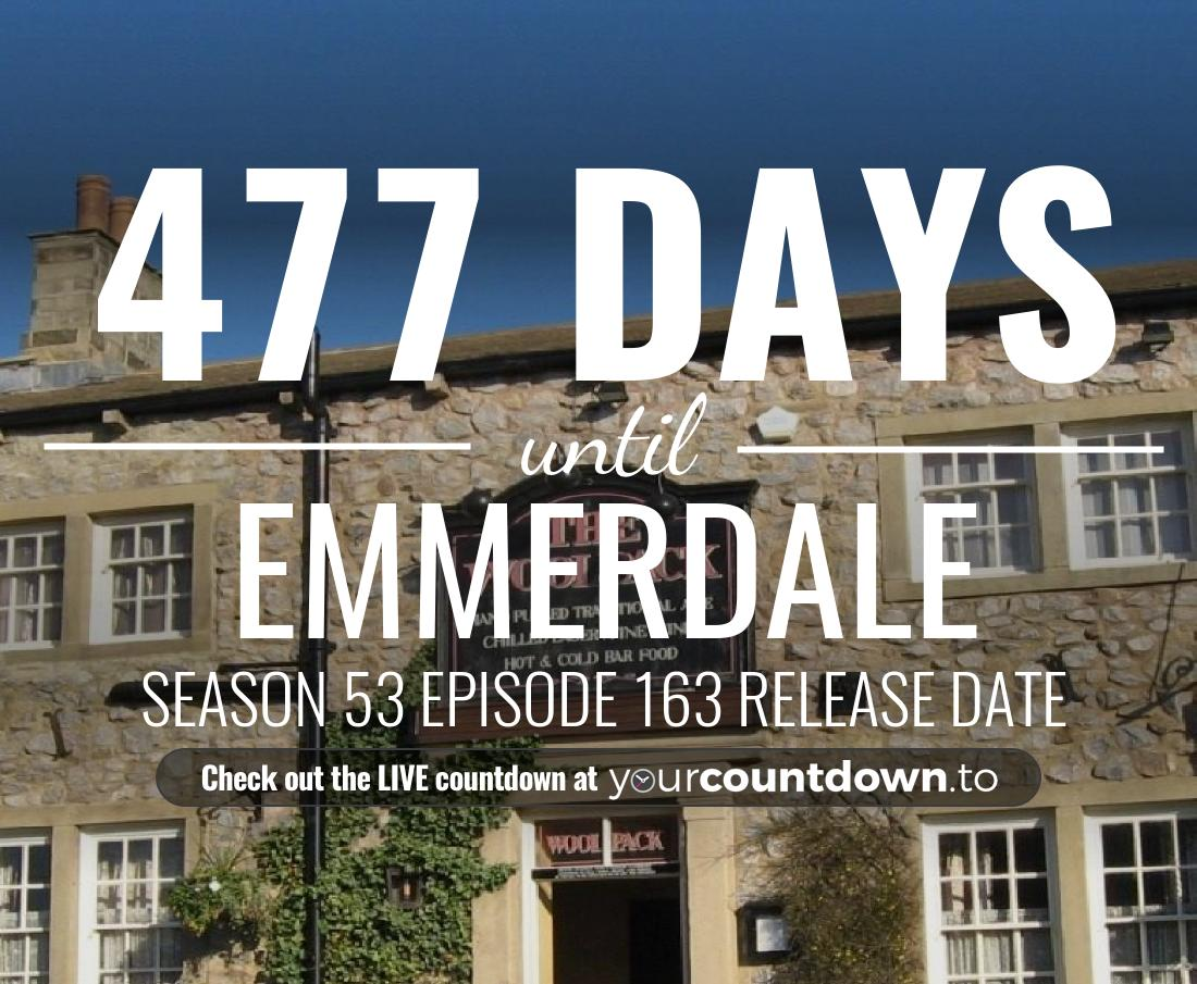 Countdown to Emmerdale Season 52 Episode 88