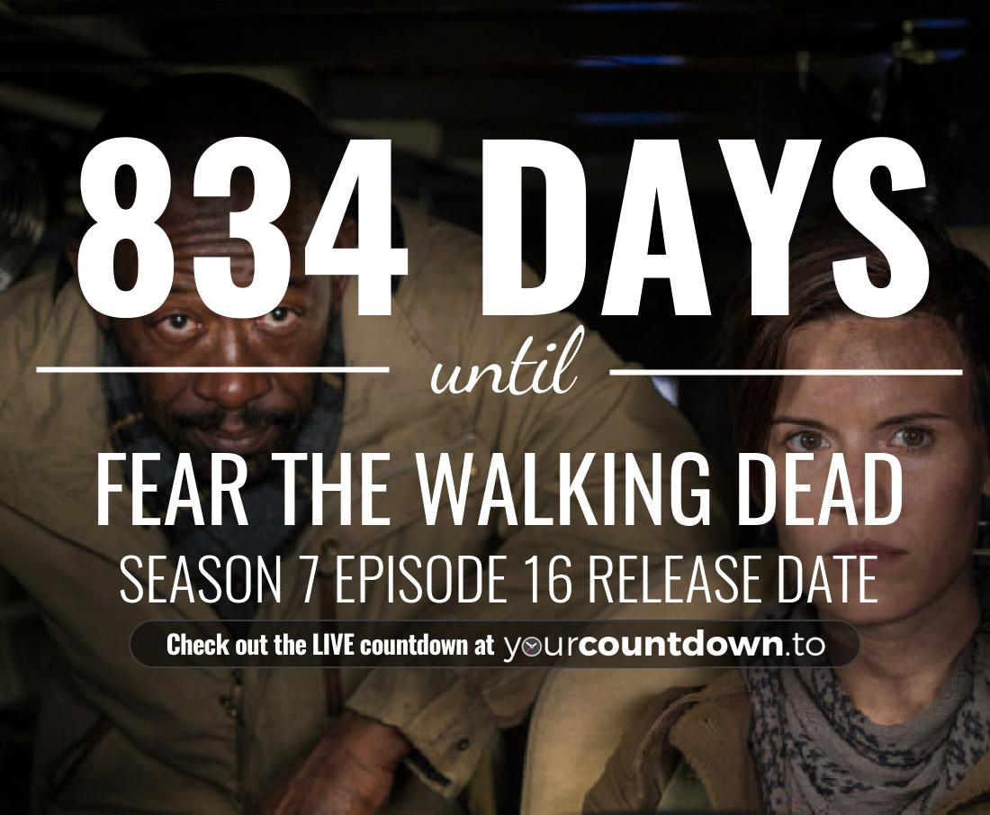 Countdown to Fear the Walking Dead Season 6 Premiere Date