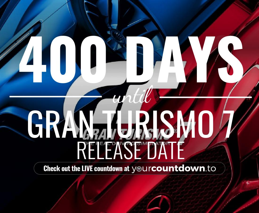 Countdown to Gran Turismo 7 PlayStation 5 Release Date