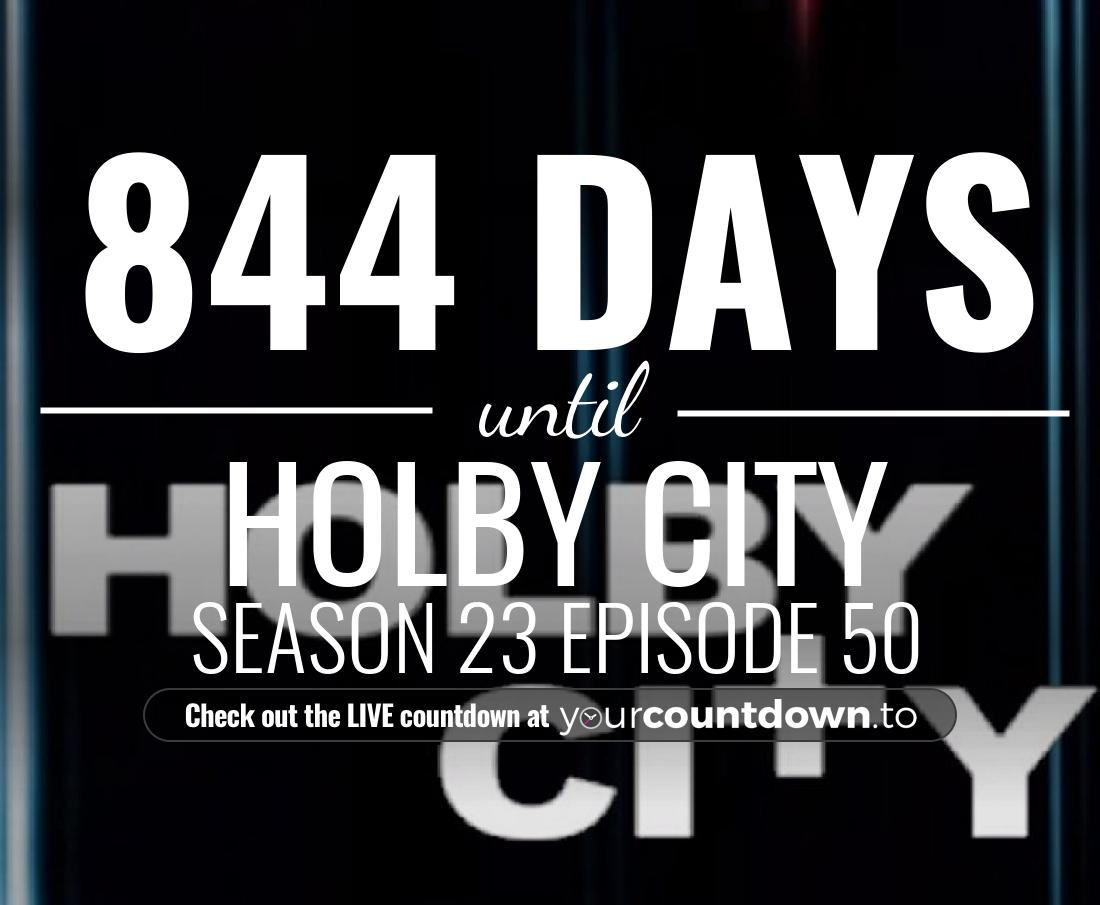 Countdown to Holby City Season 21 Episode 49