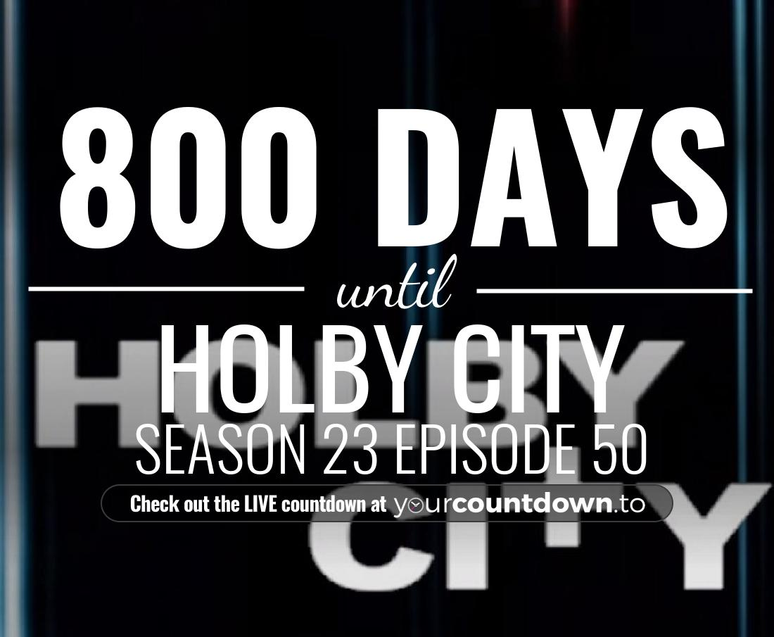 Countdown to Holby City Season 22 Episode 2