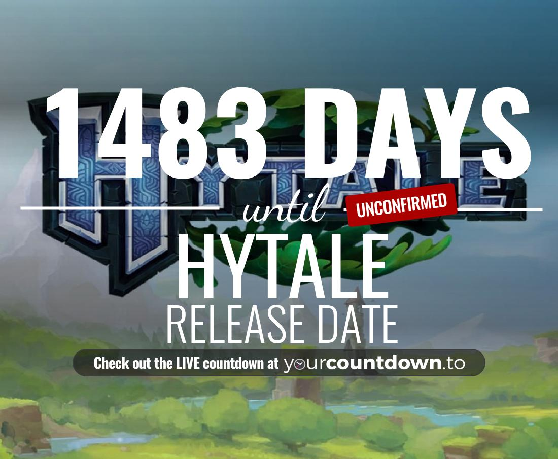 Countdown to Hytale Release Date