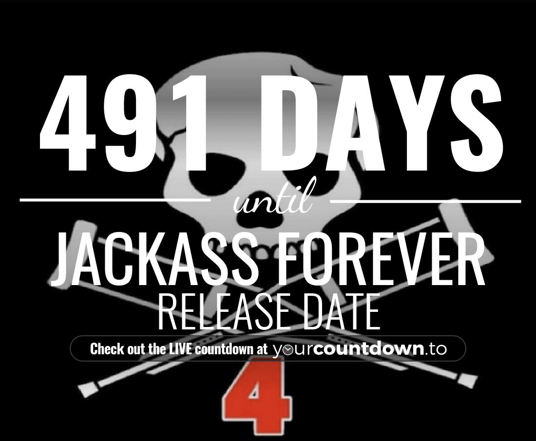 Countdown to Jackass 4 Release Date