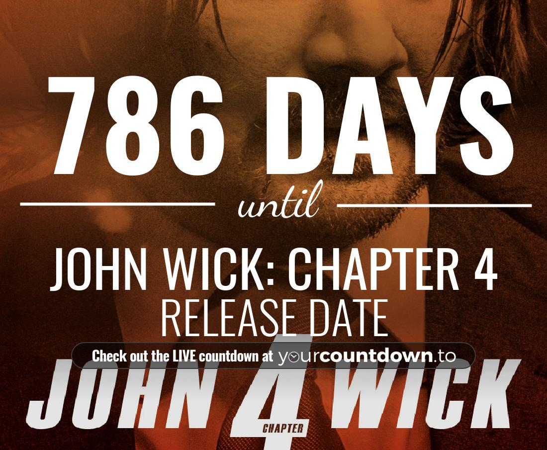 Countdown to John Wick: Chapter 4 Release Date