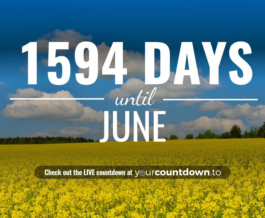 Countdown to June