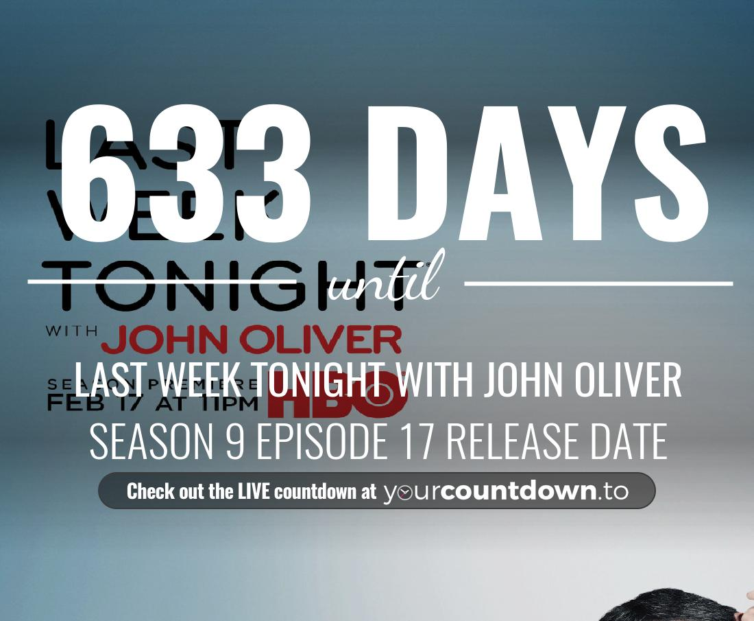 Countdown to Last Week Tonight with John Oliver Season 7 Episode 28
