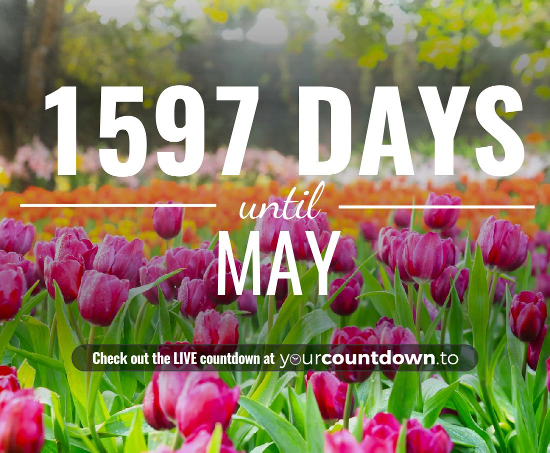 Countdown to May