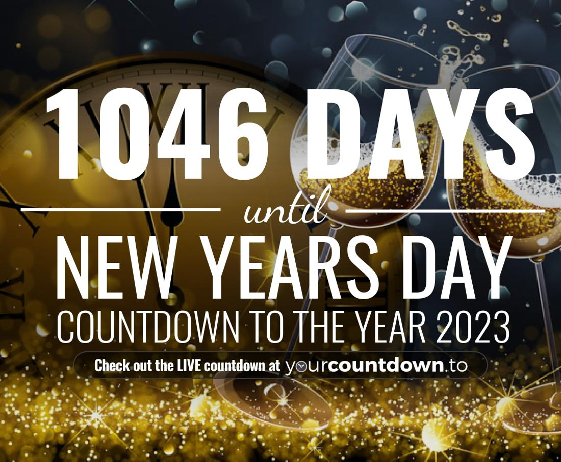 Countdown to New Years Day Countdown to the year 2021