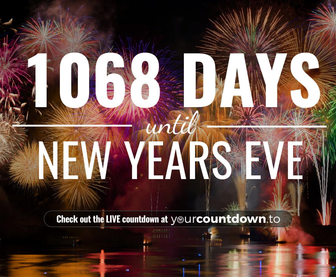 Countdown to New Years Eve