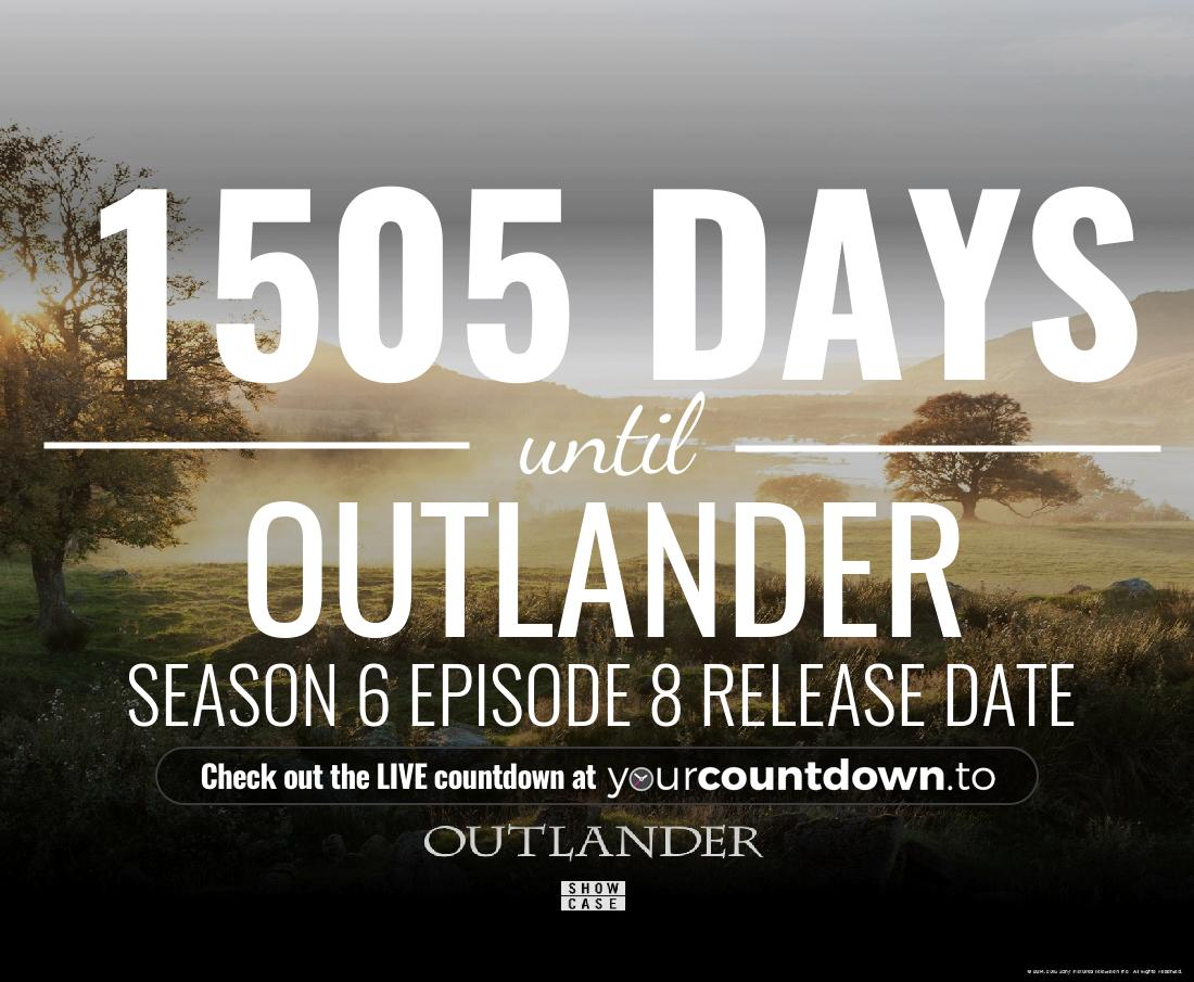 Countdown to Outlander Season 4 Release Date