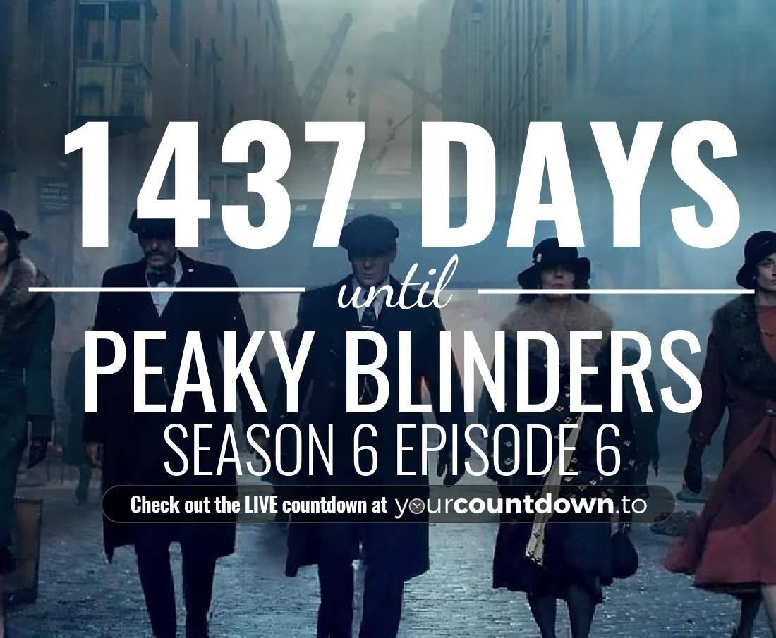 Countdown to Peaky Blinders Season 5 Release Date