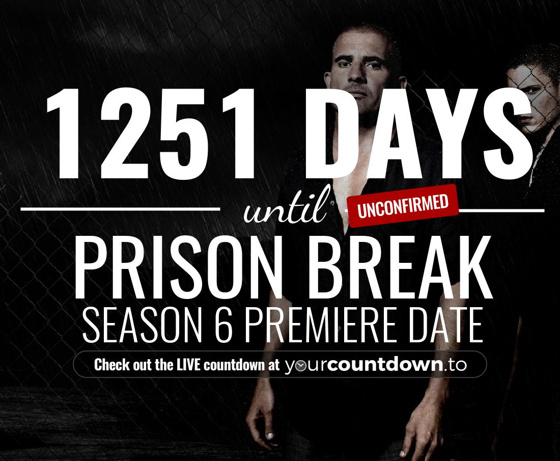 Countdown to Prison Break Season 6