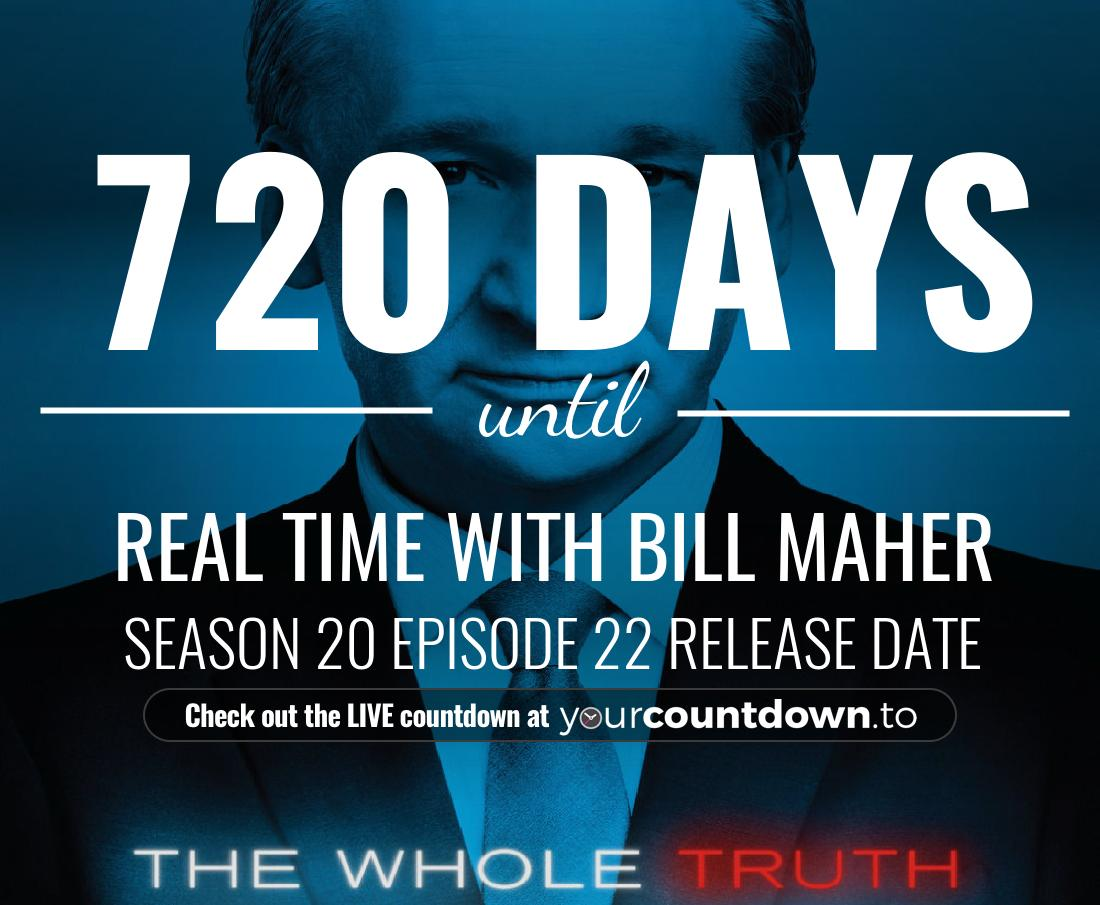 Countdown to Real Time with Bill Maher Season 18 Episode 23