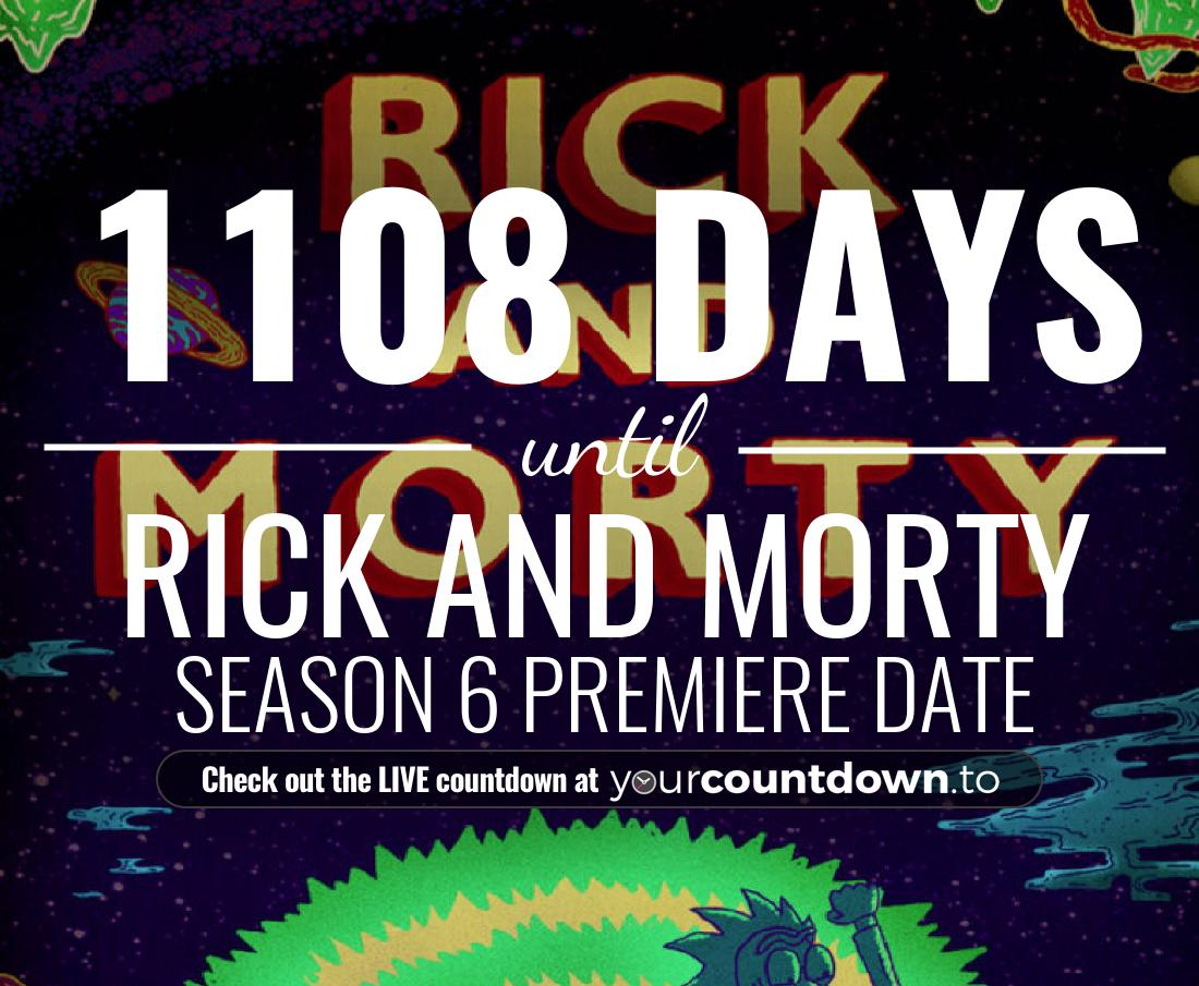 Countdown to Rick and Morty Season 4 Premiere Date