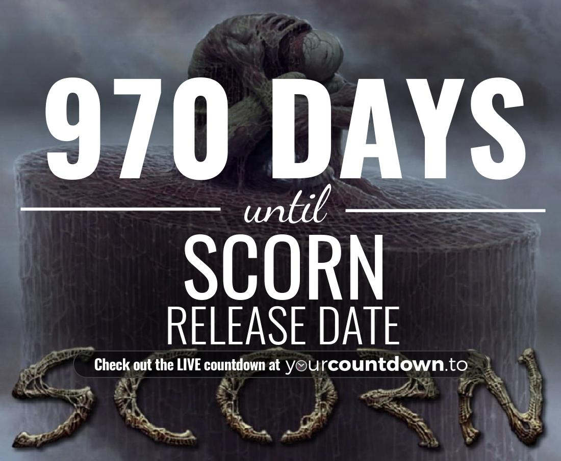 Countdown to Scorn PC Release Date