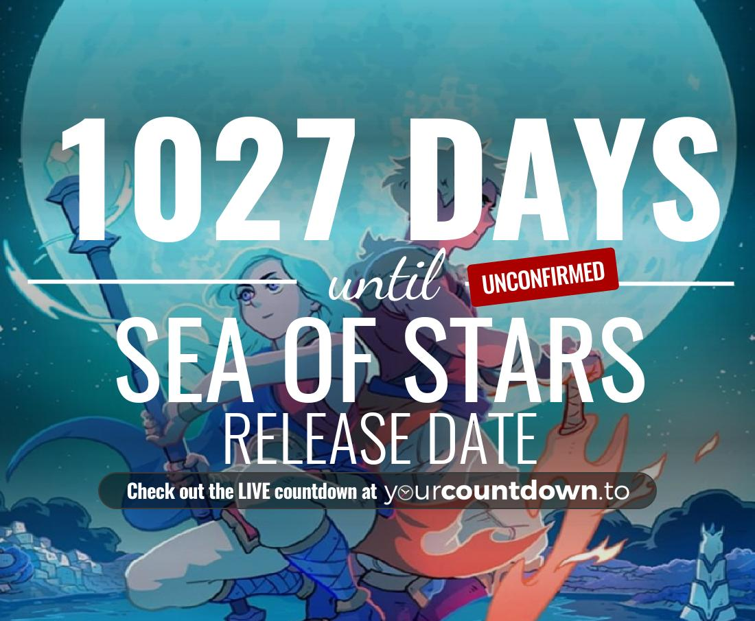 Countdown to Sea of Stars Release Date