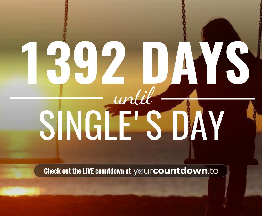 Countdown to Single's Day