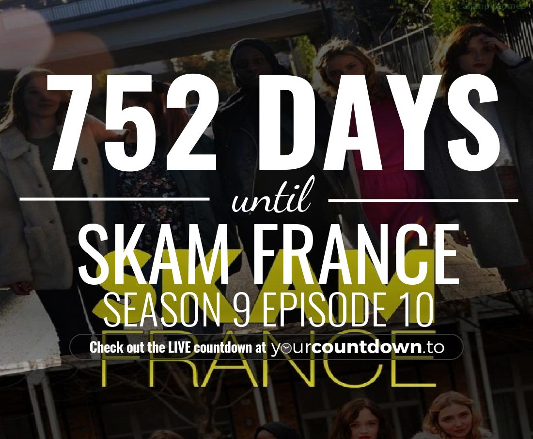 Countdown to Skam France Season 6 Premiere Date