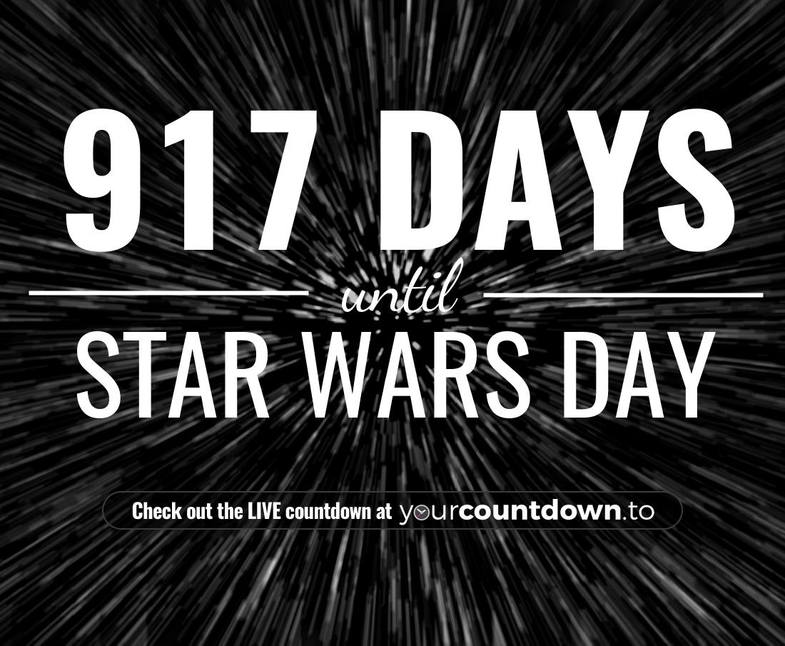 Countdown to Star Wars Day