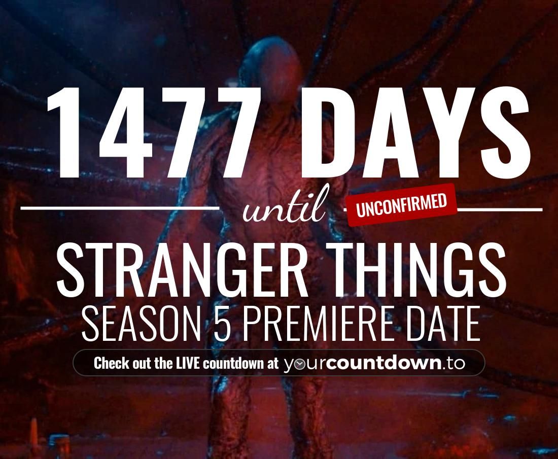 How Many Days Until Christmas 2020.Countdown To Stranger Things Season 4 Release Date