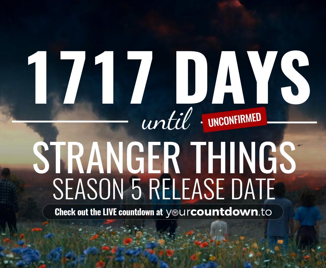 How Many Days Till Christmas Meme.Countdown To Stranger Things Season 4 Release Date