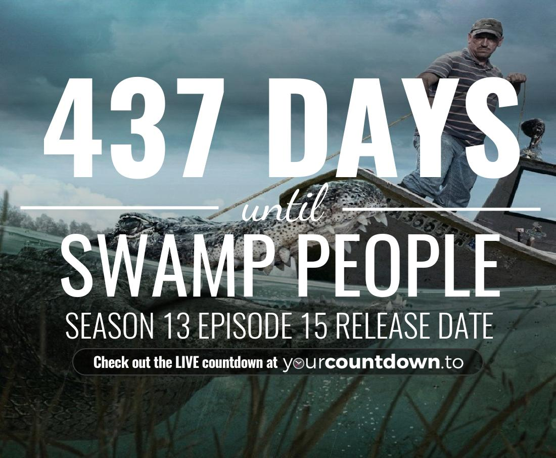 Countdown to Swamp People Season 12 Episode 7