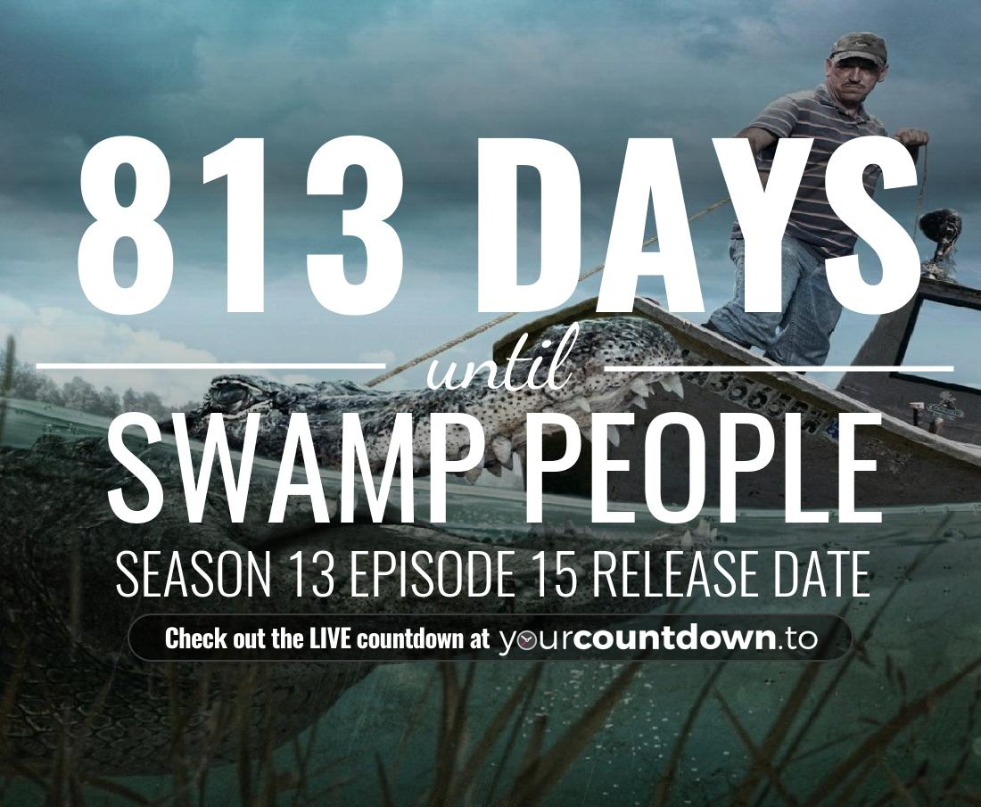 Countdown to Swamp People Season 11 Episode 6