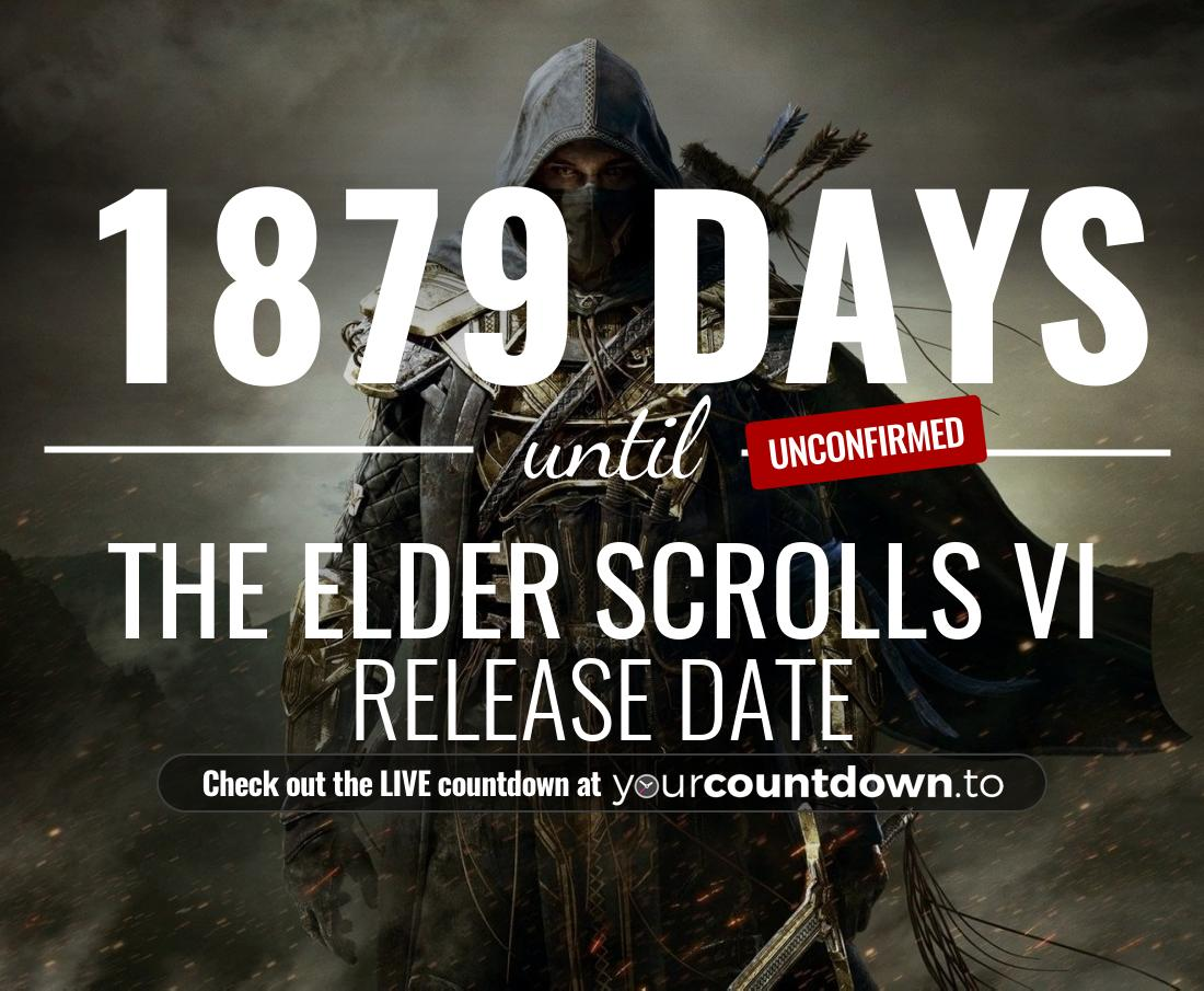 Countdown to The Elder Scrolls VI Release Date