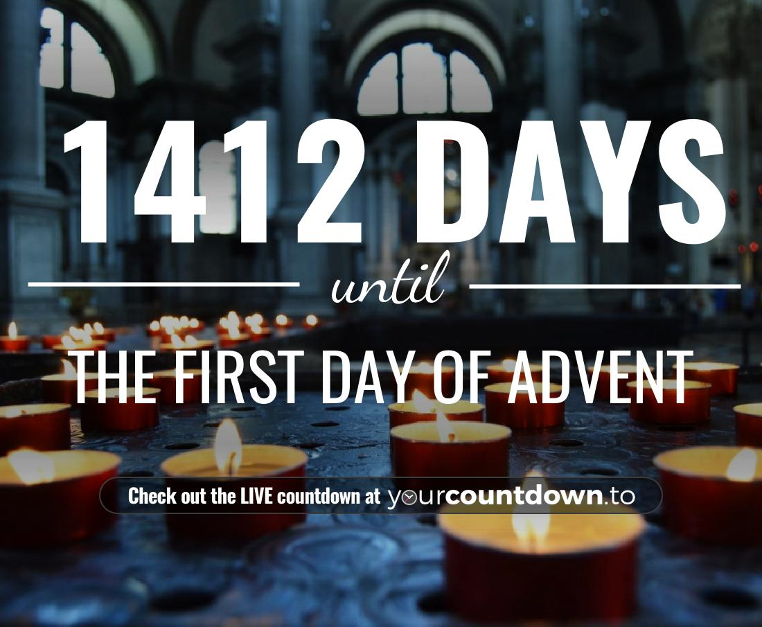 Countdown to The First Day Of Advent