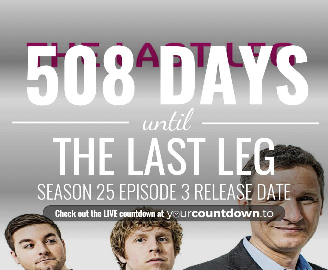 Countdown to The Last Leg Season 21 Episode 8