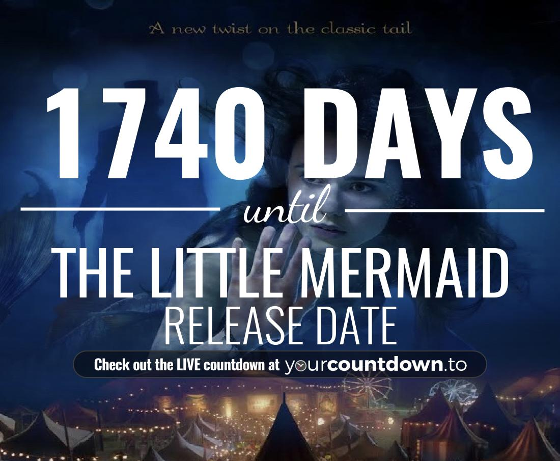 Countdown to The Little Mermaid Release Date