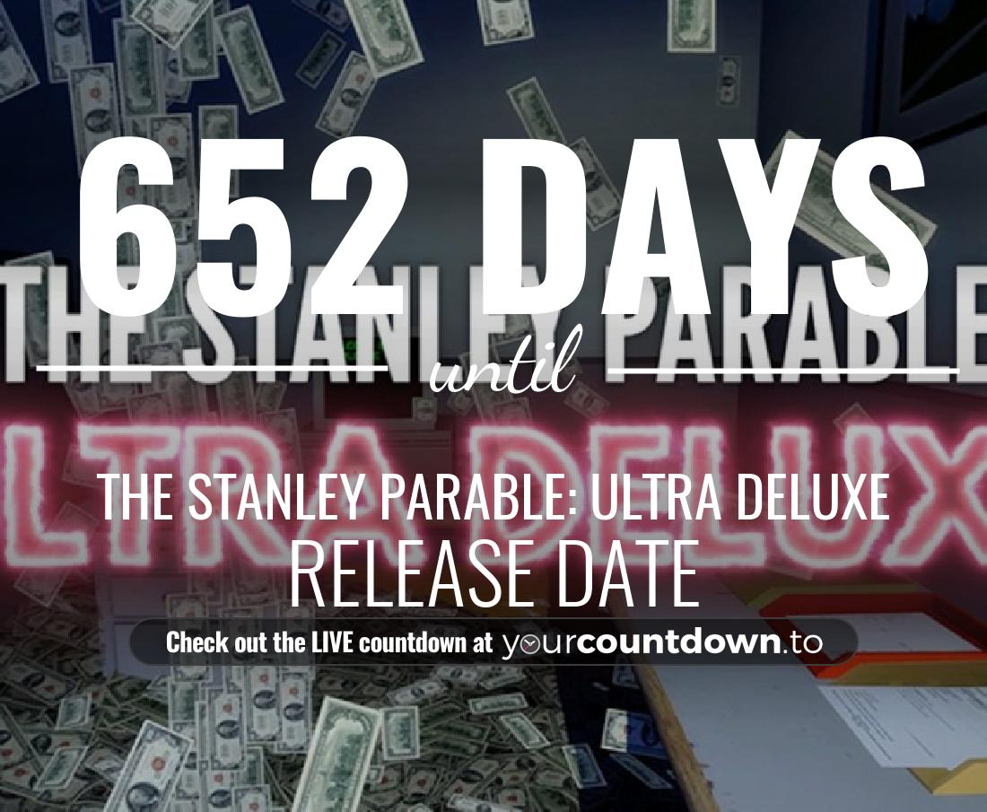 Countdown to The Stanley Parable: Ultra Deluxe Release Date