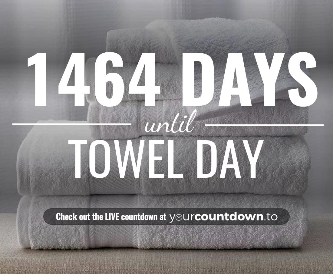 Countdown to Towel Day