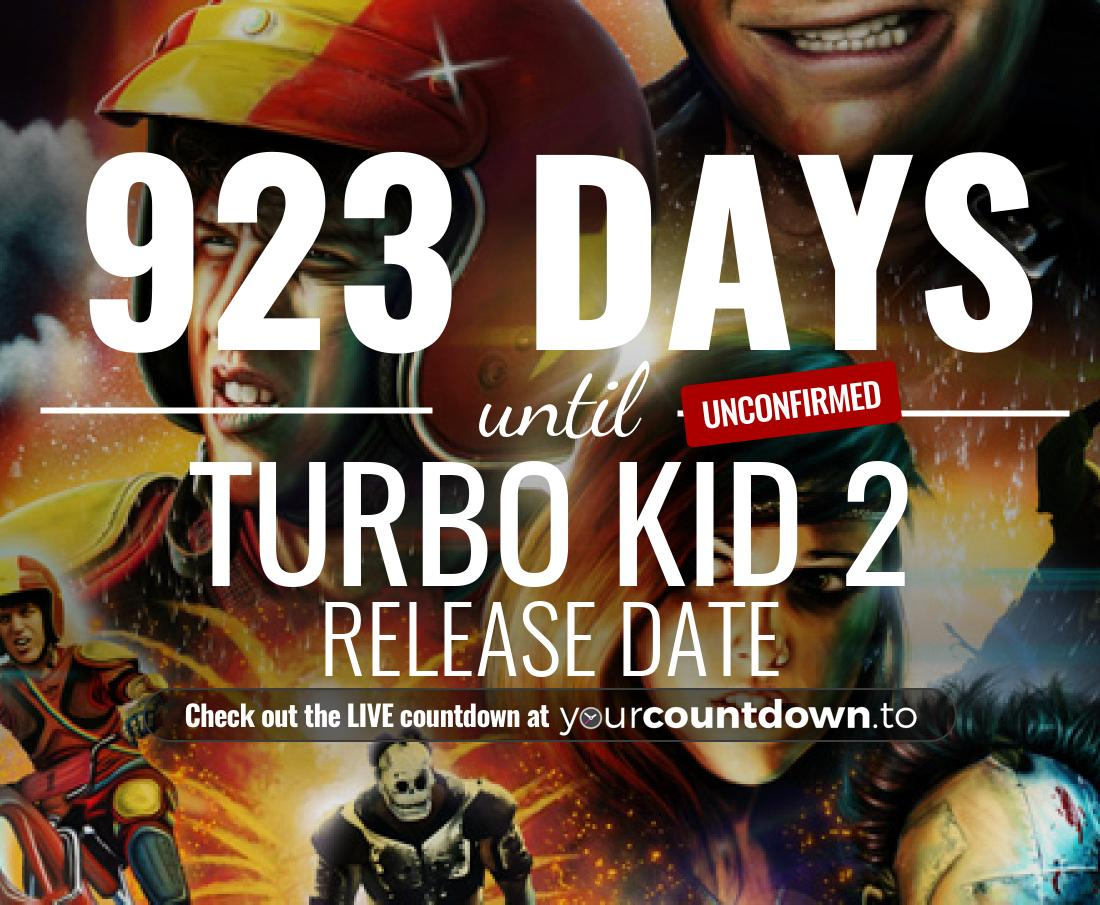 Countdown to Turbo Kid 2 Release Date