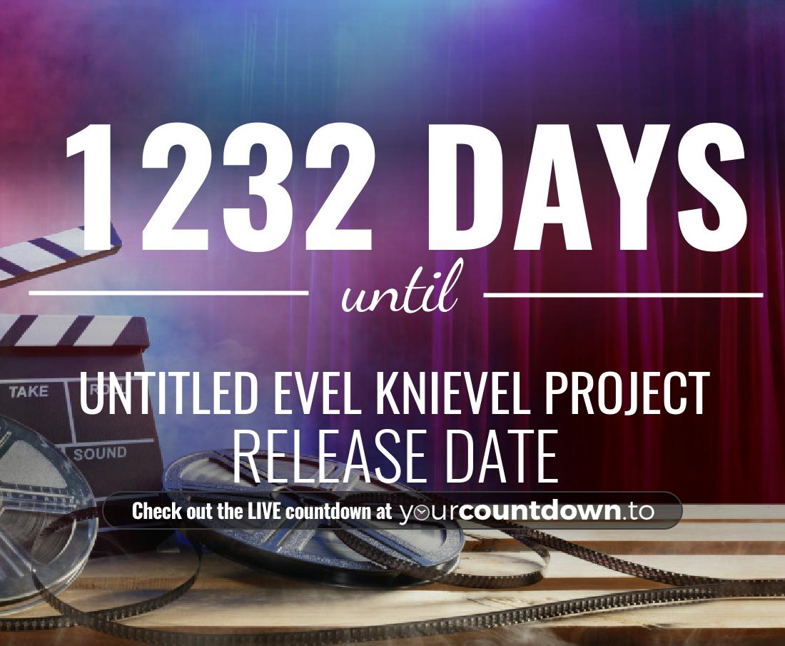 Countdown to Untitled Evel Knievel Project Release Date