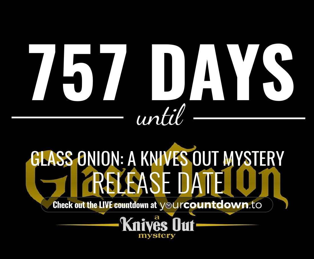 Countdown to Untitled 'Knives Out' Sequel Release Date