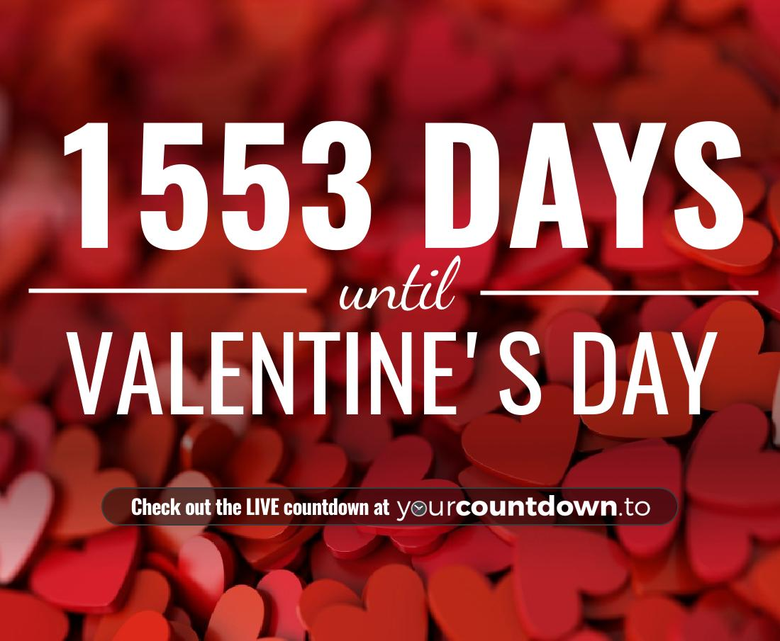 Countdown to Valentine's Day