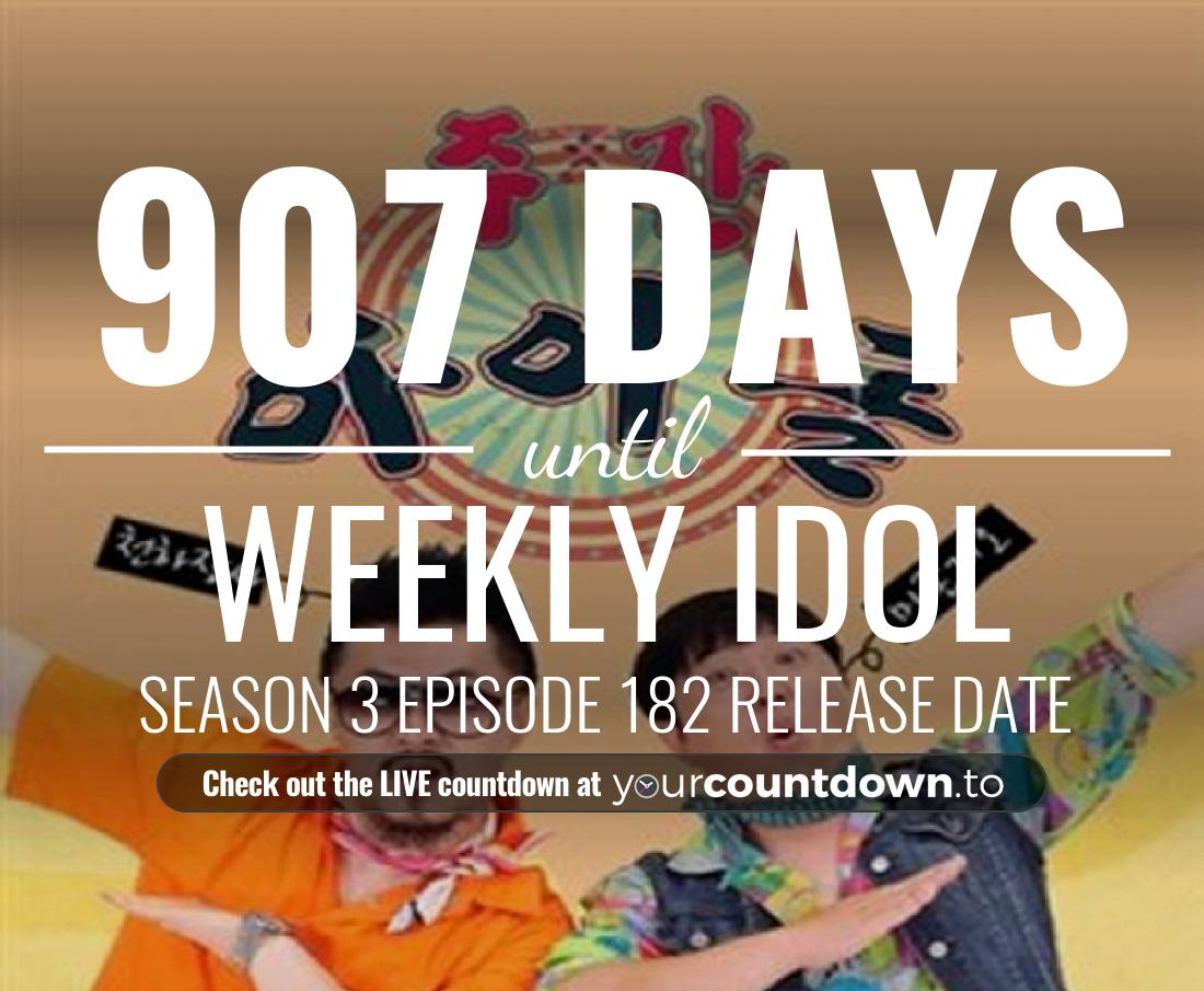 Countdown to Weekly Idol Season 3 Episode 56